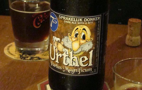 Garrafa da cerveja Urthel Parlus Magnificum