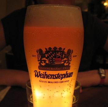 Copo da cerveja Weihenstephan