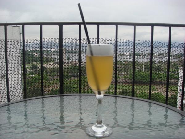 Taça do drink Bellini
