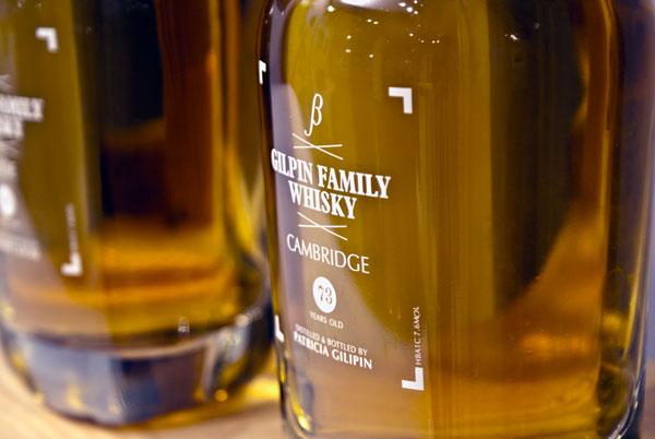 Garrafa do whisky de urina