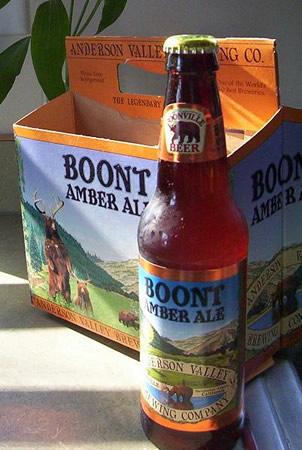Garrafa da cerveja Boont Amberale