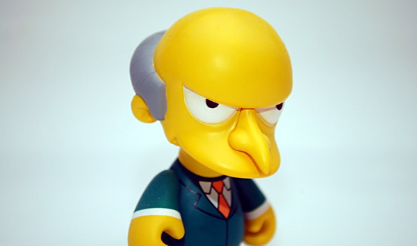 Boneco do Mr Bburns