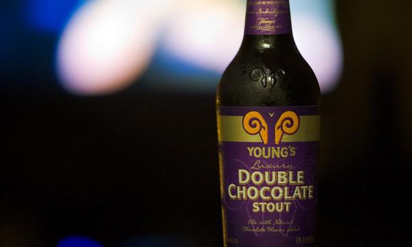 Garrafa da cerveja Double Chocolate