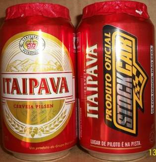 Latas da Itaipava Stock Car