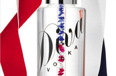Garrafa da Vodka Diva