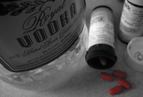 Vodka e remédios