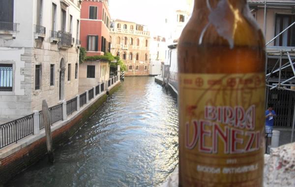 Garrafa da cerveja Birra Venezia