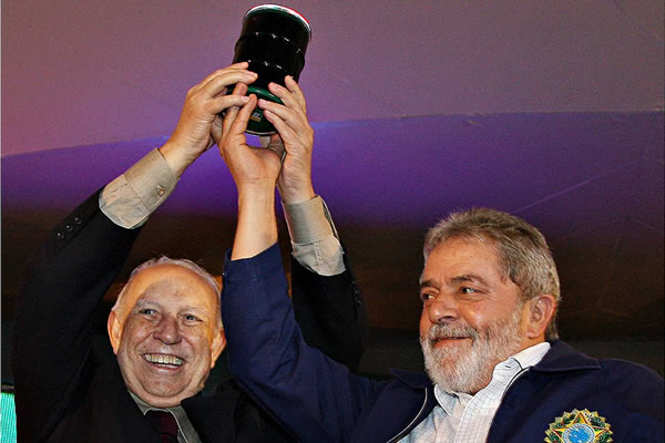 José Alencar e Lula