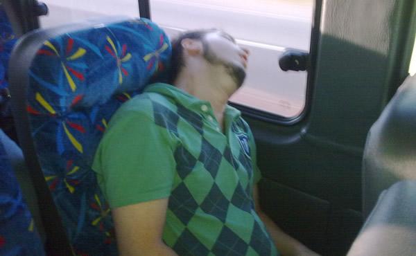 Afonso dormindo