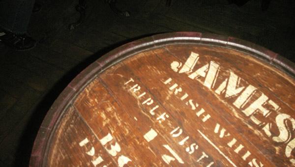 Barril de whisky