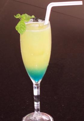 Taça do drink canarinho
