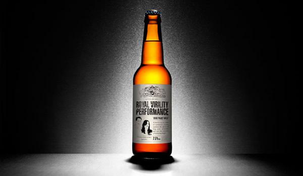 Garrafa da cerveja Brewdog, a cerveja de viagra