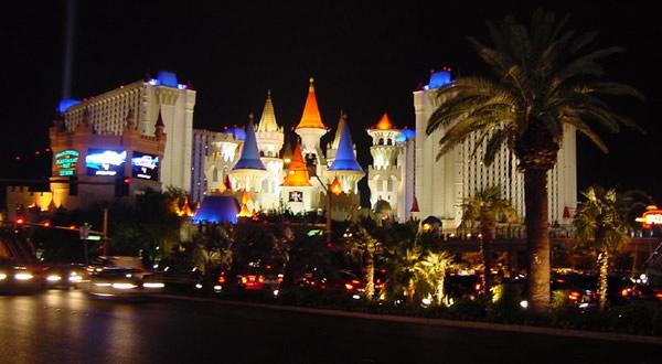 Castelo em Las Vegas