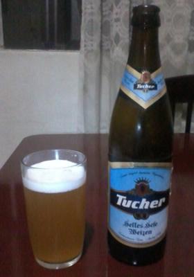 Garrafa da cerveja Tucher