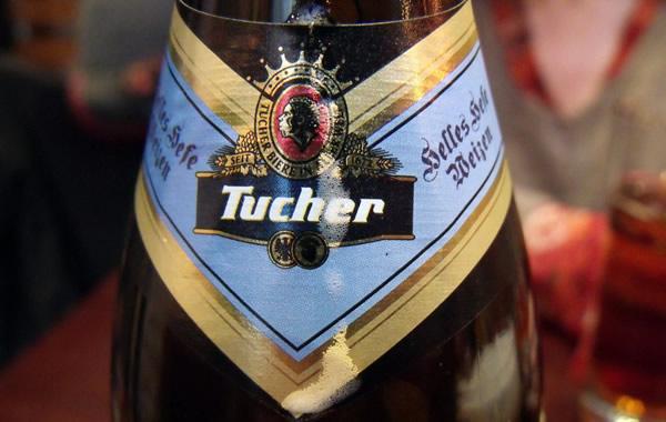 Macro da cerveja Tucher