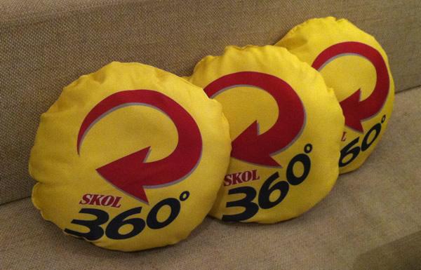 Almofadas da Skol360