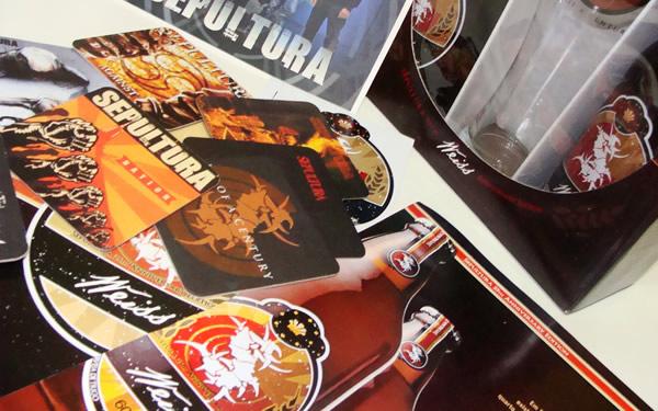 Kit da Sepulweiss, cerveja do Sepultura