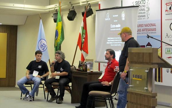Palestrantes do Concurso Nacional de Cervejas