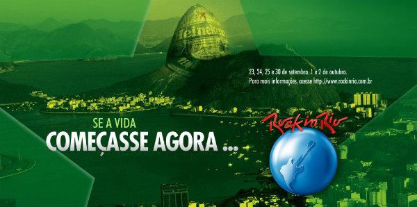 Foto da Heineken no Rock in Rio