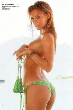 Bar Refaeli fazendo topless