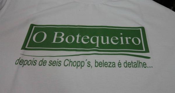 Camiseta paródia da Boticário