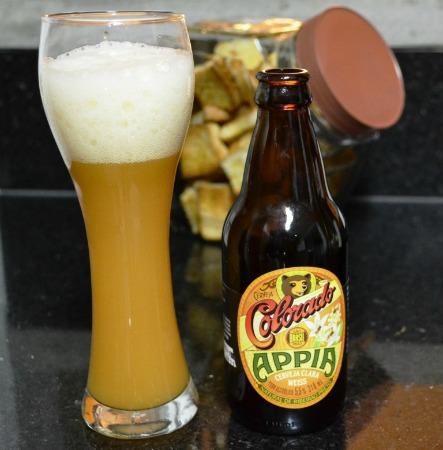 Cerveja Appia no copo certo