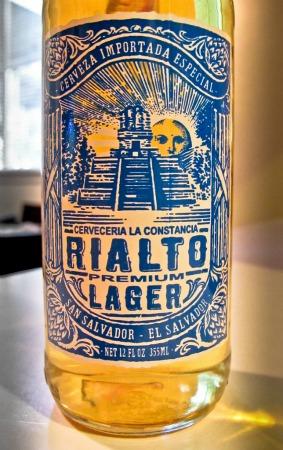 Garrafa da cerveja Rialto