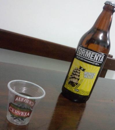 Garrafa da cerveja Tormenta