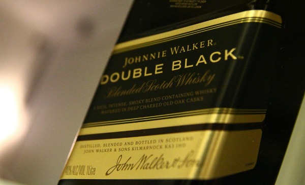 Garrafa Johnnie Walker Double Black