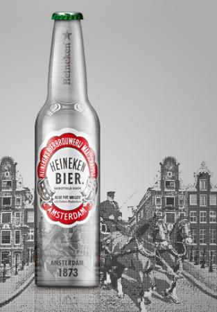 Garrafa Heineken Amsterdan 1873