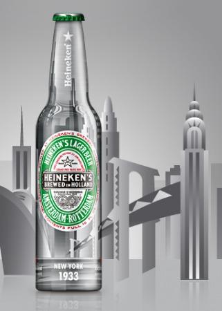 Garrafa Heineken New York 1933