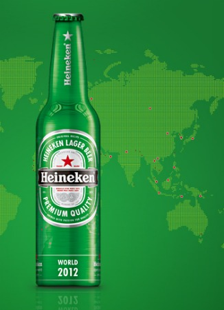 Garrafa Heineken The World 2012