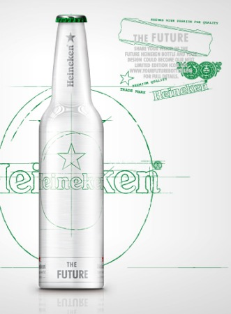 Garrafa Heineken The Future Bottle