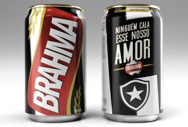 Lata da Brahma pro Botafogo