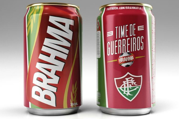 Lata da Brahma pro Fluminense