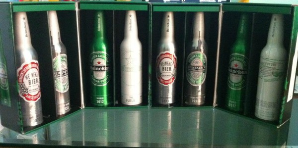 Pack exclusivo da Heineken
