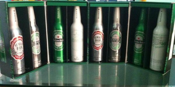 Pack exclusivo da Heineken