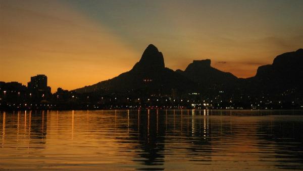 Vista Rio de Janeiro a noite