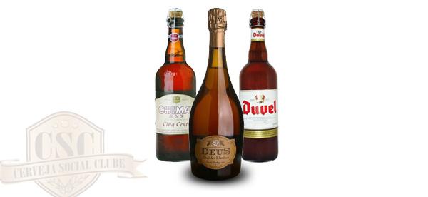 Cervejas da promoção da Cerveja Social Clube