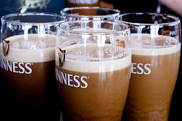 Pints de Guinness