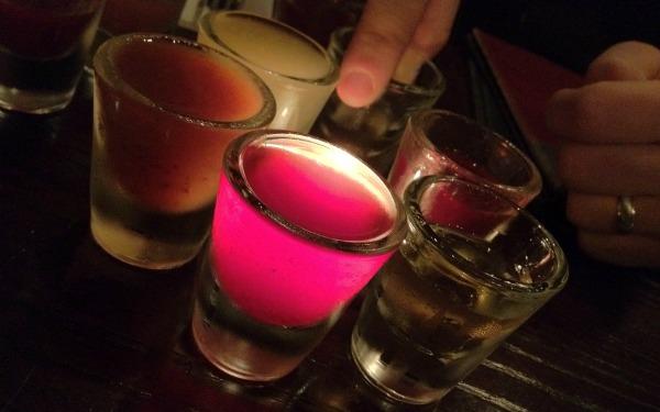 Shots iluminados poloneses