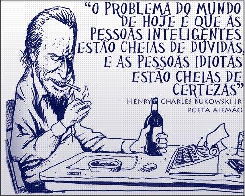 Frase do Bukowski