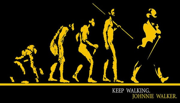 Keep Walking Johnnie Walker