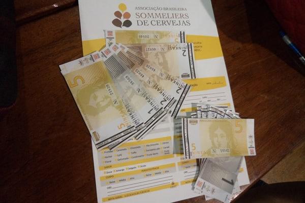 Dinheiro do evento