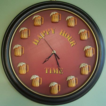 Relógio de cerveja