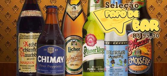 Kit com seleção de cervejas do PdB no Cerveja Social Clube