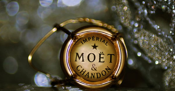 Rolha do champanhe Moet Chandon