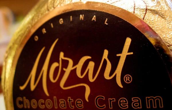 Garrafa de Mozart Gold