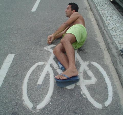 André bicicleta