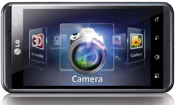 Aparelho LG Optimus 3D